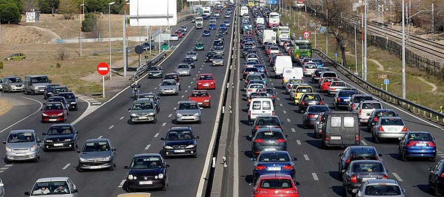 Tráfico en la A5