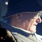 Manuel Charlín Gama, a la salida de la cárcel