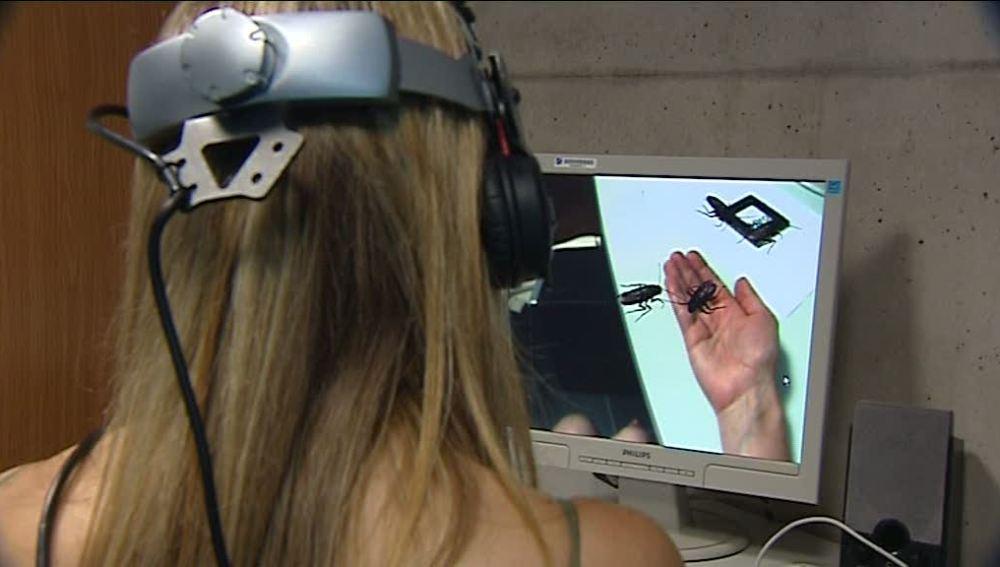 Sistema virtual para combatir las fobias