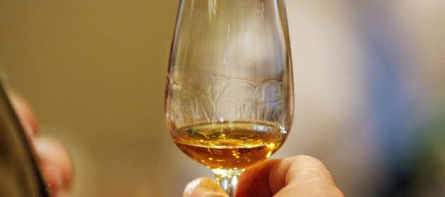El whisky encontrado está en perfecto estado de conservación