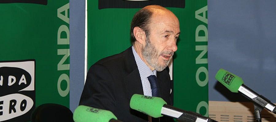 Alfredo Pérez Rubalcaba, en Onda Cero