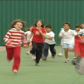 La mayoría de los niños sólo hace el deporte que marca el horario escolar