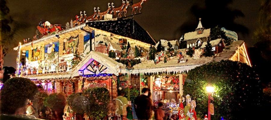 Ondacero radio has visto casas horteras decoradas en - Casas decoradas en navidad ...