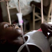El cólera hace mella en los haitianos