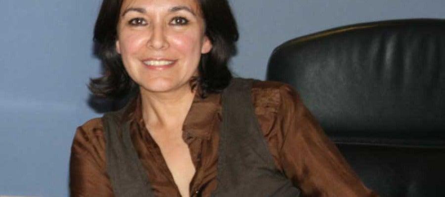 Isabel Gemio en el estudio de ONDA CERO