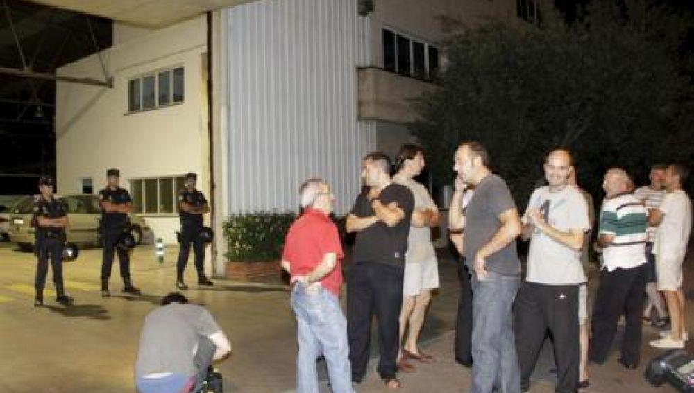 Huelga del transporte discrecional en Baleares