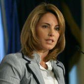 Arancha Quiroga, presidenta del Parlamento Vasco