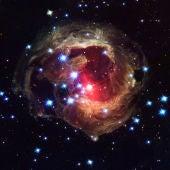 Bella instantánea del Universo capturada por el Hubble