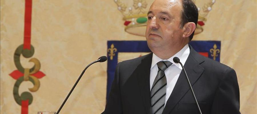 Pedro Sanz, presidente de La Rioja