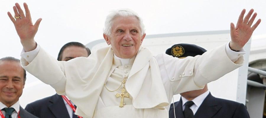 Benedicto XVI se despide de Madrid