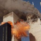 Tras el impacto de los dos aviones contra las Torres Gemelas