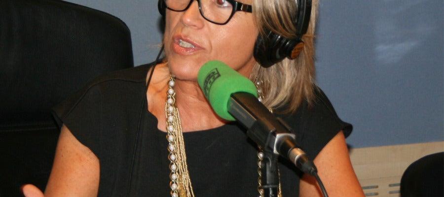 Julia Otero en los micrófonos de Onda Cero