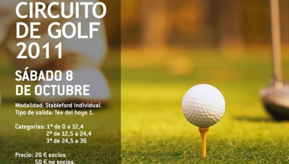 Circuito de golf Onda cero 2011