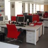 Una oficina vacía