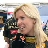 ¿Una española en la Fórmula 1?