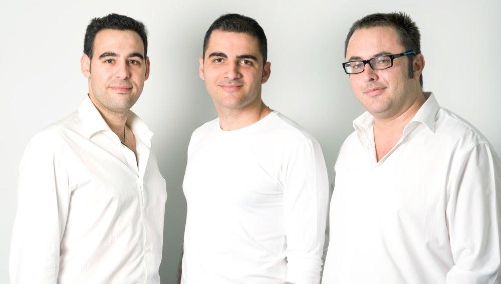 Juan carlos Enrique, Nataniel González y Pedro Morlà