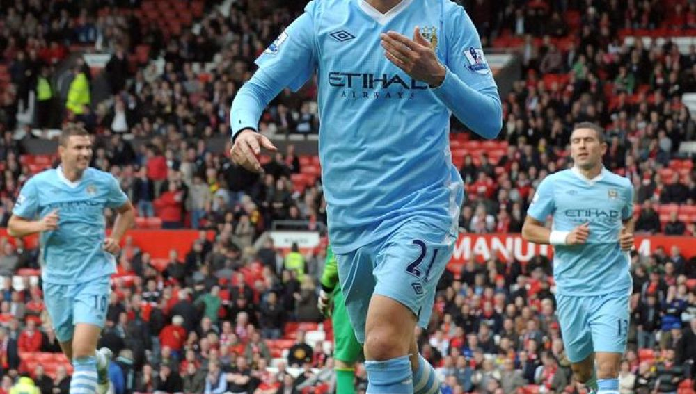 David Silva, una de las estrellas del Manchester City