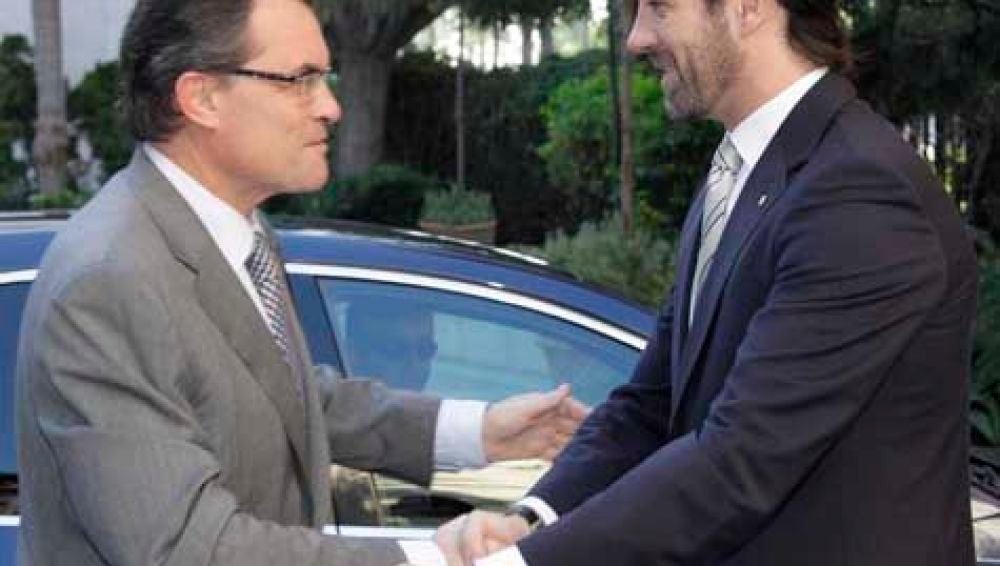 Artur Mas y José Ramón Bauzà