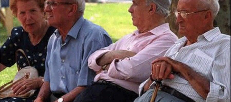 Un grupo de jubilados