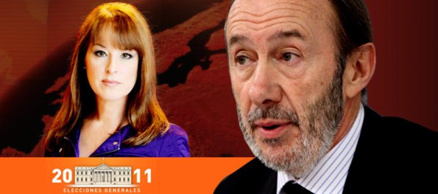 Gloria Lomana entrevista al candidato del PSOE