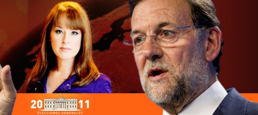 Gloria Lomana entrevista al candidato del PP