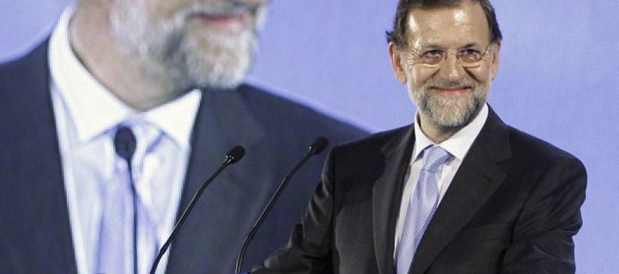 Mariano Rajoy en Oviedo
