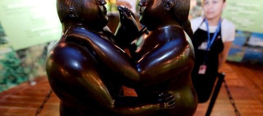 Obras de Botero cobran protagonismo en una subasta de Nueva York
