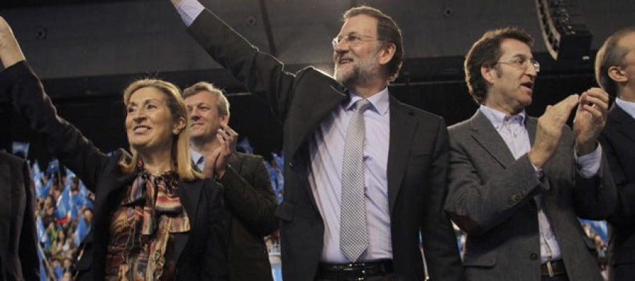 Mariano Rajoy, en Vigo