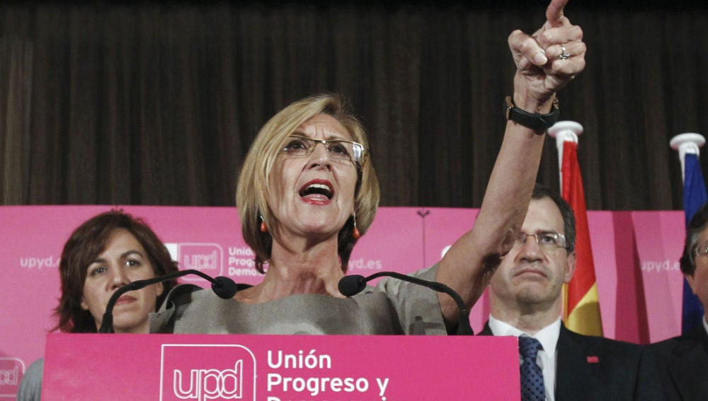 Rosa Díez, líder de UPyD