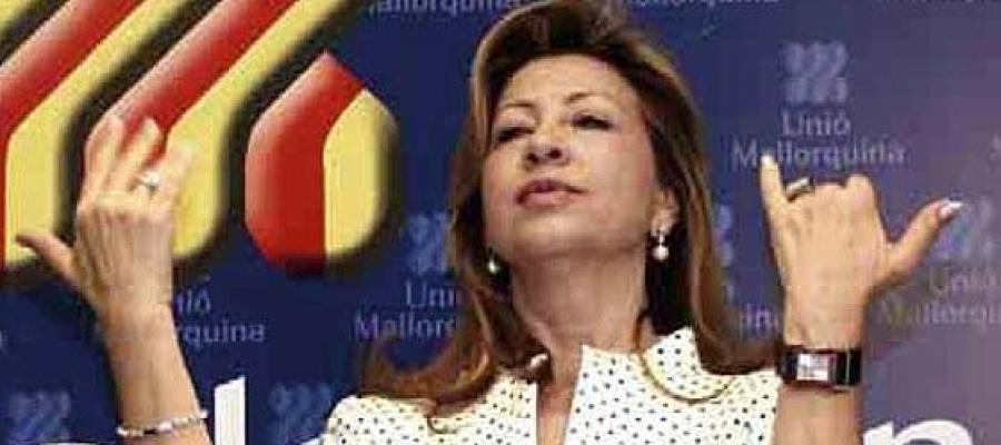 La expresidenta de UM, María Antònia Munar