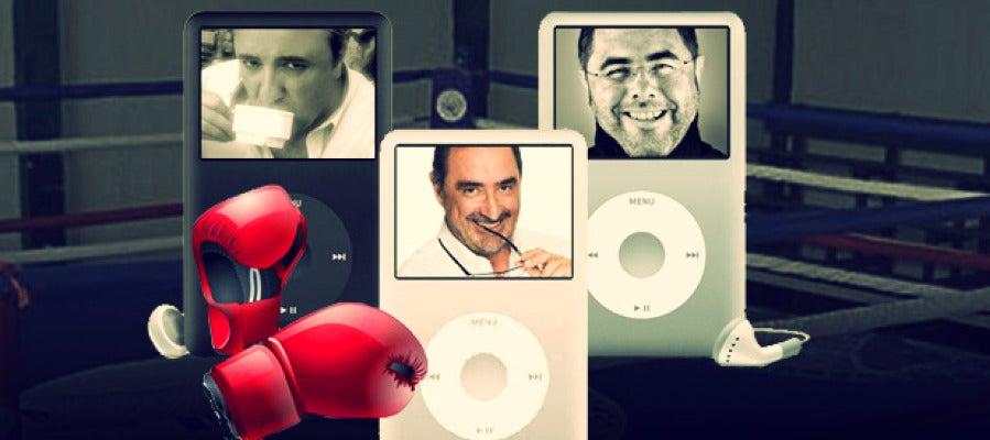 Guerra de ipod: olmedo, salas, Herrera
