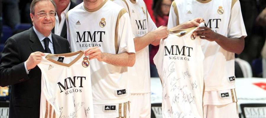 Rudy e Ibaka se despiden de la afición del Real Madrid