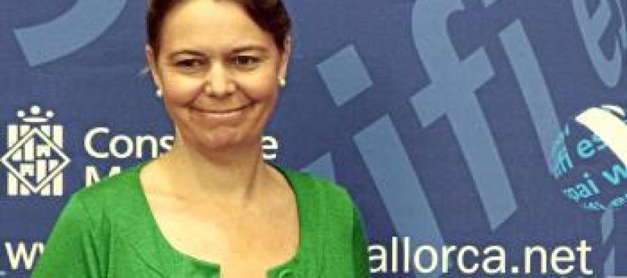 La presidenta del Consell de Mallorca, María Salom