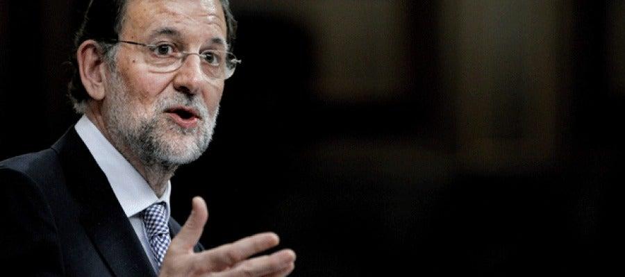 Mariano Rajoy, en el debate de investidura