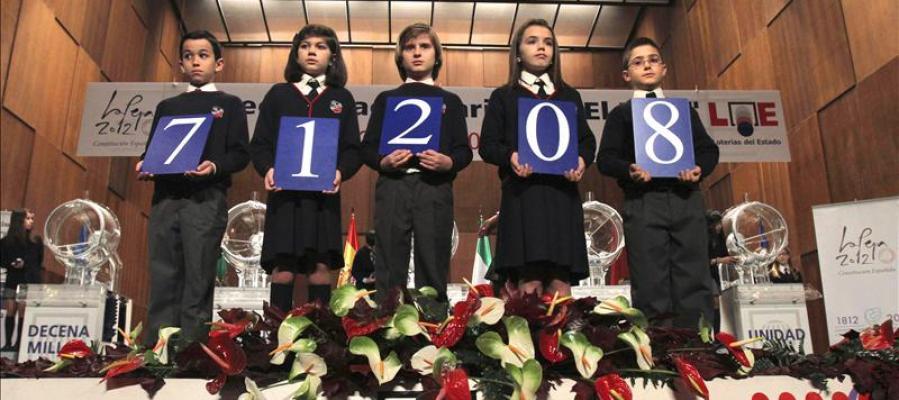 """El número 71.208, primer premio del sorteo de """"El Niño"""""""