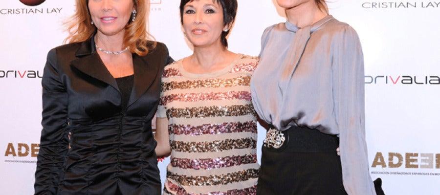 Norma Duval, Isabel Gemio y Juncal Rivero