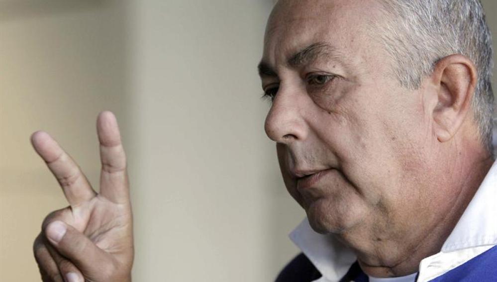 Sebastián Martínez Ferraté a su llegad a  España