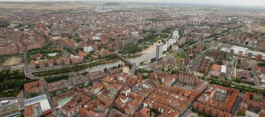 Vista aérea de Valladolid
