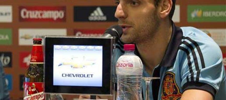 El jugador Roberto Soldado