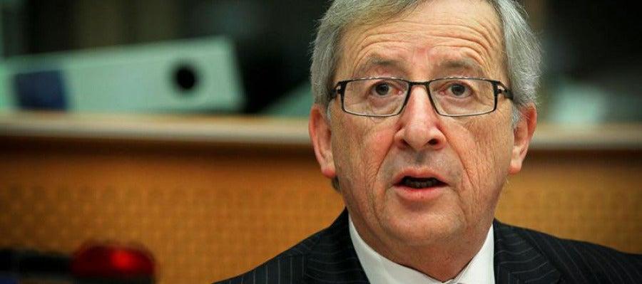 Jean Claude Junker, presidente del Eurogrupo