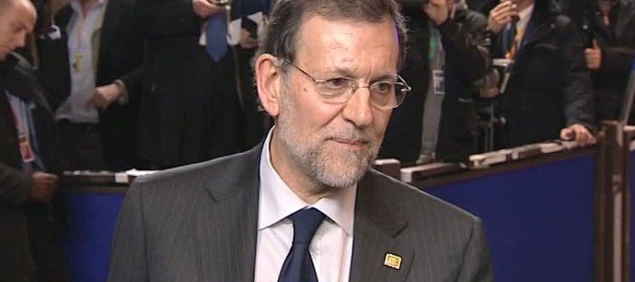 Rajoy asegura que la crigra de déficit no se cerrará hasta junio.