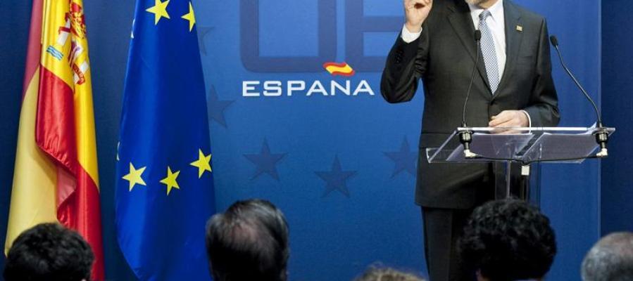 Rajoy anuncia el déficit para el próximo año.