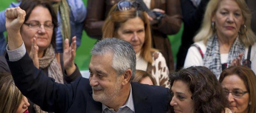 José Antonio Griñán en Sevilla