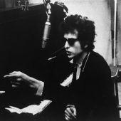 Imagen de archivo del músico Bob Dylan en su juventud.