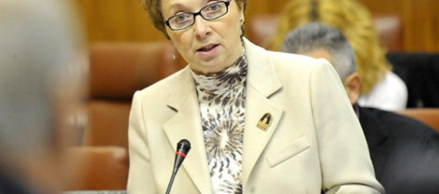 Carmen Martínez, Consejera de Hacienda del Gobierno andaluz