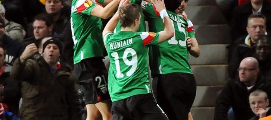 El Athletic de Bilbao vence en Manchester