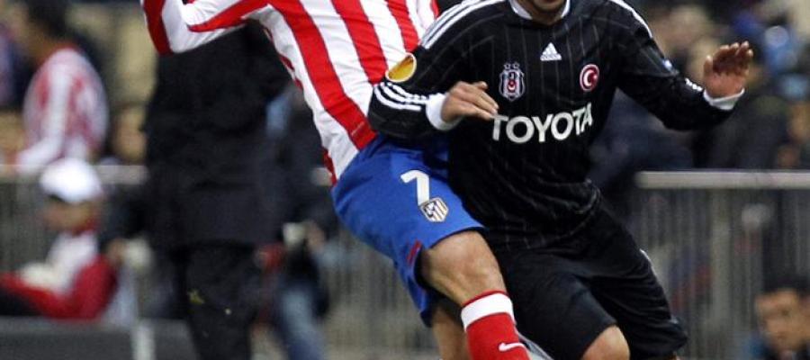 El Atlético de Madrid vence al Besiktas