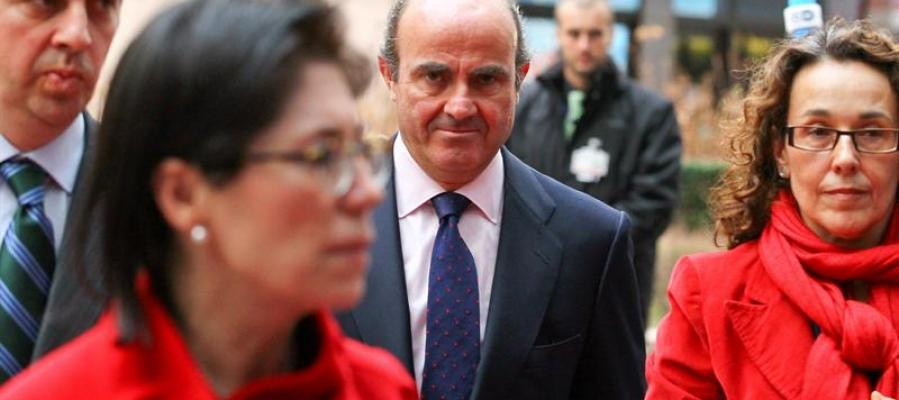 El ministro español de Economía, Luís de Guindos