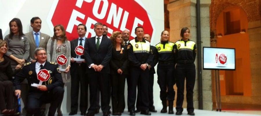La policía local de Castellón ha recibido hoy en Madrid el galardón
