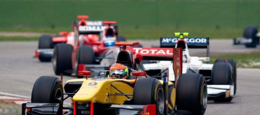Grosejan, en las GP2 Series del año pasado